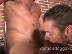 Супер сексуальное , мышечная шпилька , Чад Брока был в городе посещение
