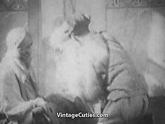 Galna arabisk Bisexual Fucking natt ( 1920 Tappning som är )