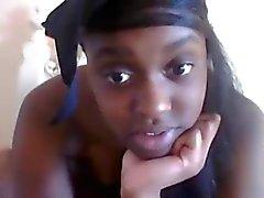 Webcamz Archief - Ebony 18yo slet voor de webcam