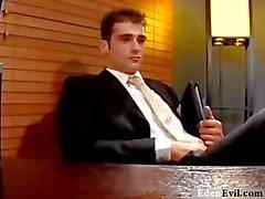 Stronzi personale tecnico Jason a Brant - video gay