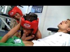 Little Caprice e il Sabrinka - Boxing Girl
