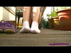 Annas Purple Sneakers