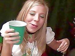 Dronken tieners hebben van seks