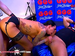 Brunette fessée Anal putain - German Goo Girls