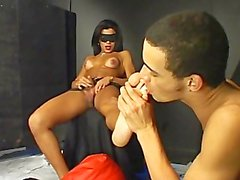 Foot Worshipping Transsexuals 03 - Scene 3