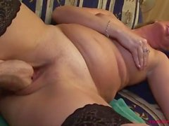 Sexy Blonde Mom Double Teamed