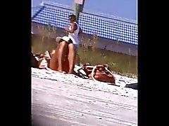 blonde and friend crotch shot 166,, tight bikini,, cameltoe