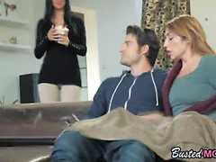 Bisexual milf teen blowjob Jasmine fuck threesome
