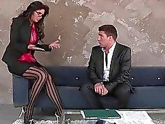 Verbazingwekkend rondborstige Babe Phoenix Marie halen een kerel