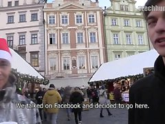 Christmas markets in Prague are full of visitors. Prices