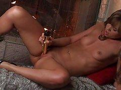 Gros seins Hot Alexis de Capri Masturbat ...