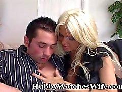 hubbywatcheswife feminino de estimação big boobs - peituda