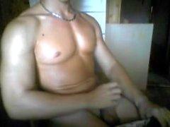 Italienisch Gut aussehende Fitness Boy, Big dicker Schwanz auf Cam