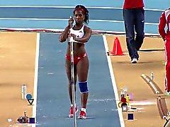Yarisley Silva: Olimpiadas cubano sexy culo poste con pértiga - Ameman