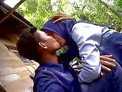cewek indonésia ciuman jilbab tudung de dan Pamer susu