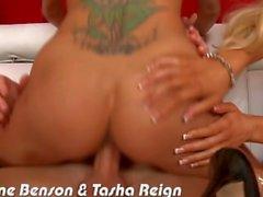 Busty Breanne Benson et Tasha Reign est baisée