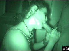 Charley Chase se la follan en la oscuridad