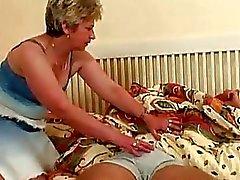 Grandes Tits loira da avó Tirar Ssw O ...
