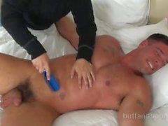 Handsome Muscle Stud Bound and Tickled - Derek Atlas
