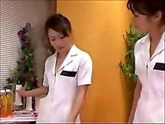Japanin Sairaanhoitajat Rimming & Nytkähtelevät Lucky Patient ( Zdonk )