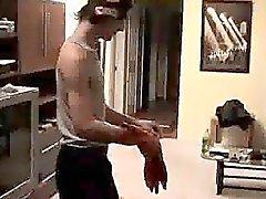 Skater galã ficando a bunda batia e de remado
