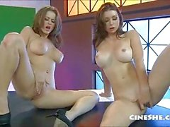 Emilys Addisons & Erika Vandeven Naked News