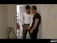 großer Schwanz Homosexuell Oralsex und abspritzen Feature Video 3