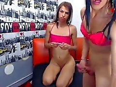 webcam 2 trannys sex 2
