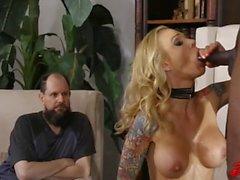sexo oral maduro rubia grandes tetas mamada