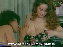De Danica Collins aka dona Ambroise - années 80 Vintage Gros seins Britannique