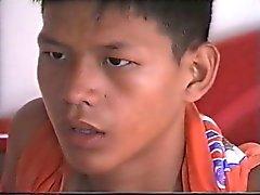 Sevimli bir Jön Tayland çocuk