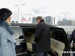 Риа Сунн Получить выебанная жесткий в кузове А Лимо