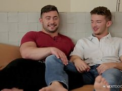 Experiencing his First Gay Sex at Next Door Studios!