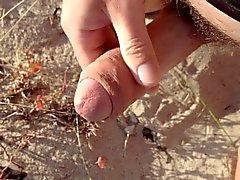 Do penis Cabeludo arrancado na praia