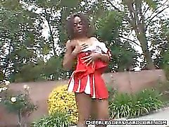 Clit polissage Ebony Majorette