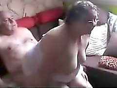 Grandmother And Grandfather Having Sex