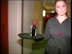 Chubby Nederlandse Hotel Maid