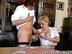 Fat Mature Tits Tease