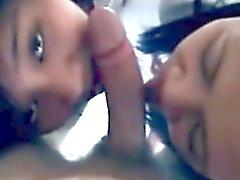 Ubicación encuentro estudiante asiático que es mamada