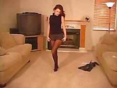Meia-calça preta de Isabella
