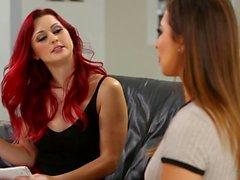 Karlie Montana samt Melissa Moores flicka på Girl Åtgärd