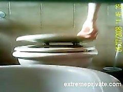 en caméra cachée ma mère le rasage chatte sur WC