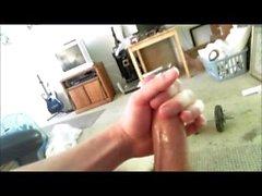 Musik Zusammenstellung von abnormal großen Horn Schießen Pfeile von Dickes Sperma