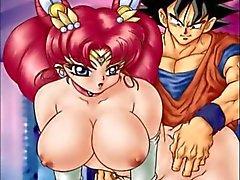Sailor Chibi Moon orgieën