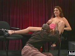 Raylene disfruta de su gran pecker negro