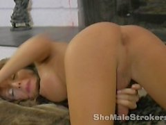 Kimber James Big Tits Fireside Stroking