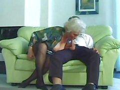 bbw oma oude jonge