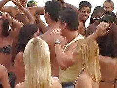 Braziliaans Carnaval Orgy 3 !