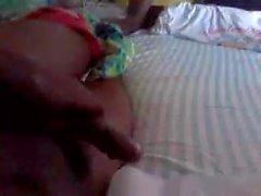 Ich posierte als Frau auf badoo und bekam einen Mann zu wichsen auf Video :)