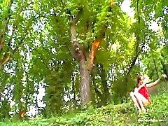 Floresta Natasha menina da Europa
